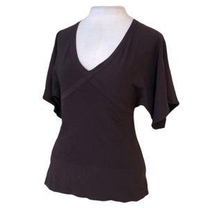 LOFT Rayon Kimono Style Blouse Stretch Size S